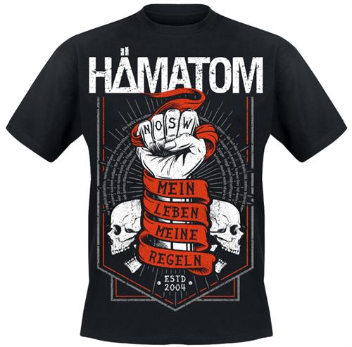 Hämatom -MEIN LEBEN - MEINE REGELN T-Shirt